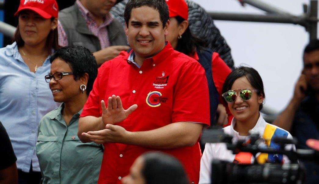 Hijo Nicolas Maduro electo Asamblea Constituyente
