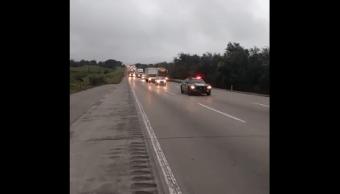 Operativo Carrusel en la autopista México - Querétaro