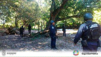 Atacan a policías estatales de Guerrero, hay tres heridos