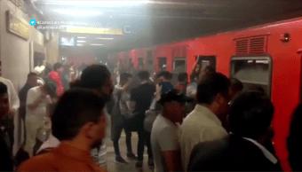 Otra vez, fallas en el Metro de la CDMX