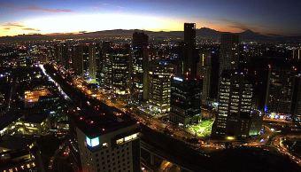 panoramica de la ciudad de mexico; prevén 27 grados