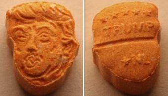Alemania decomisa 5 mil pastillas de éxtasis con el rostro de Trump