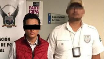 Un ecuatoriano es detenido en tlaxcala por la pgr