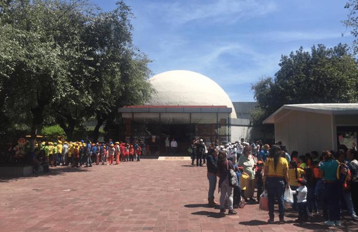 Planetario Luis Enrique Erro, Eclipse Solar, CDMX, IPN