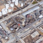 Planta quimica afectada Harvey amenaza explotar Houston