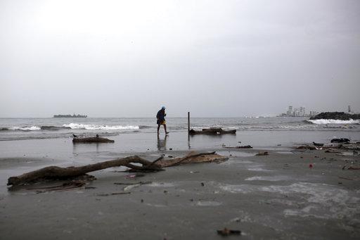 Huracán Franklin impactará Veracruz próximas horas