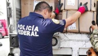 PF asegura cartuchos en empresa de paquetería en Guanajuato