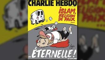 Charlie Hebdo publica portada alusiva a ataque en Barcelona