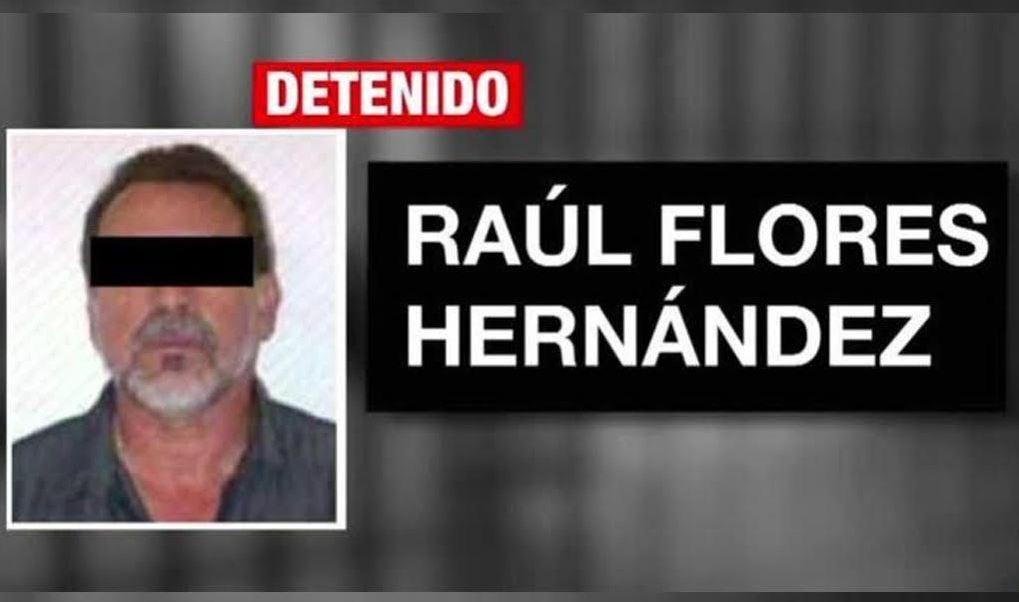 Raúl Flores es trasladado a 'El Altiplano'. (Noticieros Televisa)