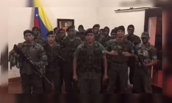 Grupo militar se subleva en Venezuela, pero es reducido por el Ejercito