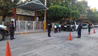 Seguridad Pública resguarda la seguridad de los estudiantes en Veracruz