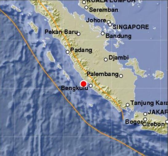 Un terremoto de magnitud 6.4 sacudió la isla indonesia de Sumatra