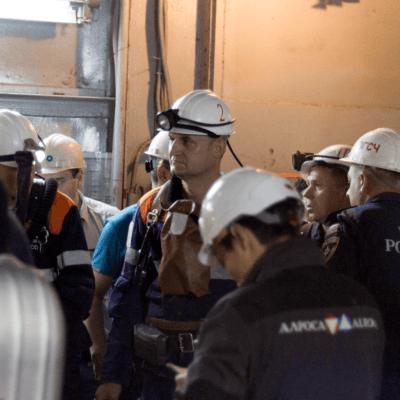 Al menos nueve mineros desaparecidos en mina de diamantes en Siberia, Rusia