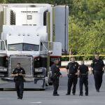 Llega SLP cuerpo mexicano murió tráiler