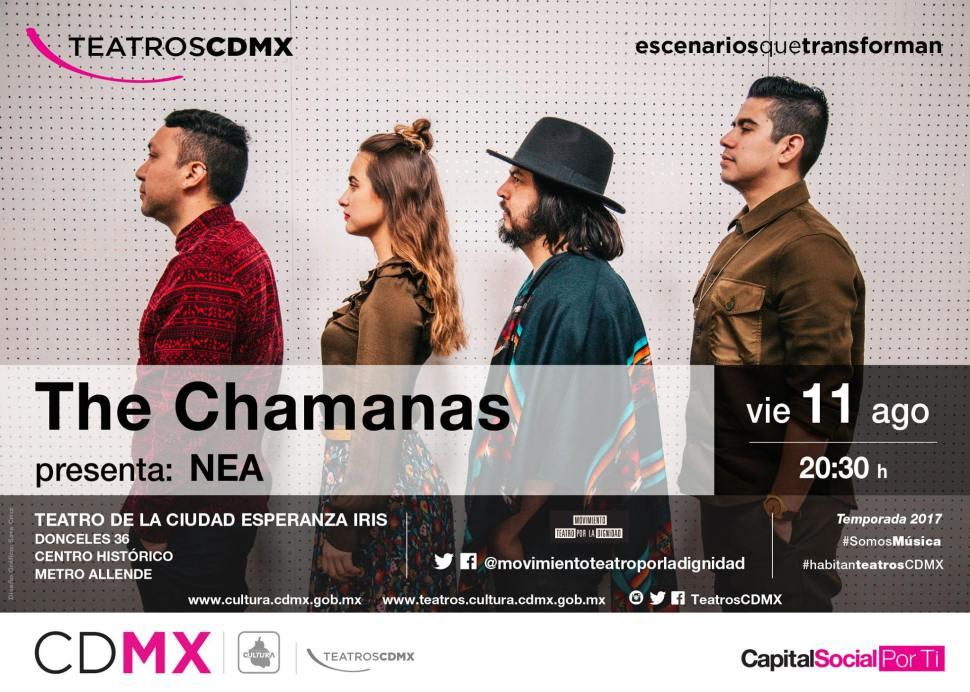 The Chamanas en el Teatro de la Ciudad Esperanza Iris