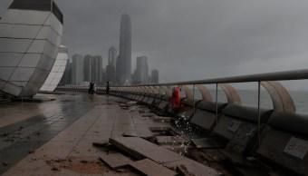 suman 16 muertos tifon hato china
