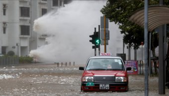 Tifon Hato deja 12 muertos Macao y Hong Kong
