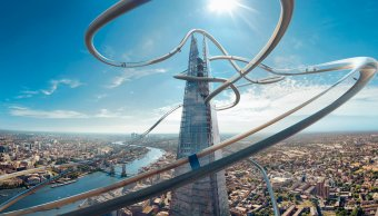 Tobogán de realidad virtual en Reino Unido