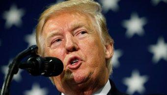 Trump pide Congreso bajar impuestos Estados Unidos