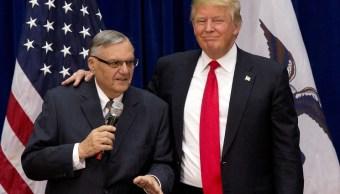 Trump insinua que podria indultar exsheriff Joe Arpaio