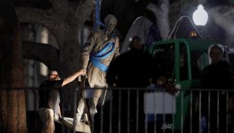 Retiran monumentos confederados en Universidad Texas