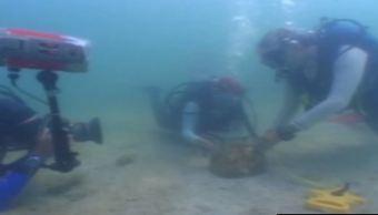 INAH Campeche recibe reconocimiento de Unesco por patrimonio subacuático