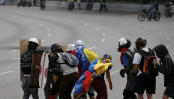 Protestas contra el gobierno de Nicolas Maduro