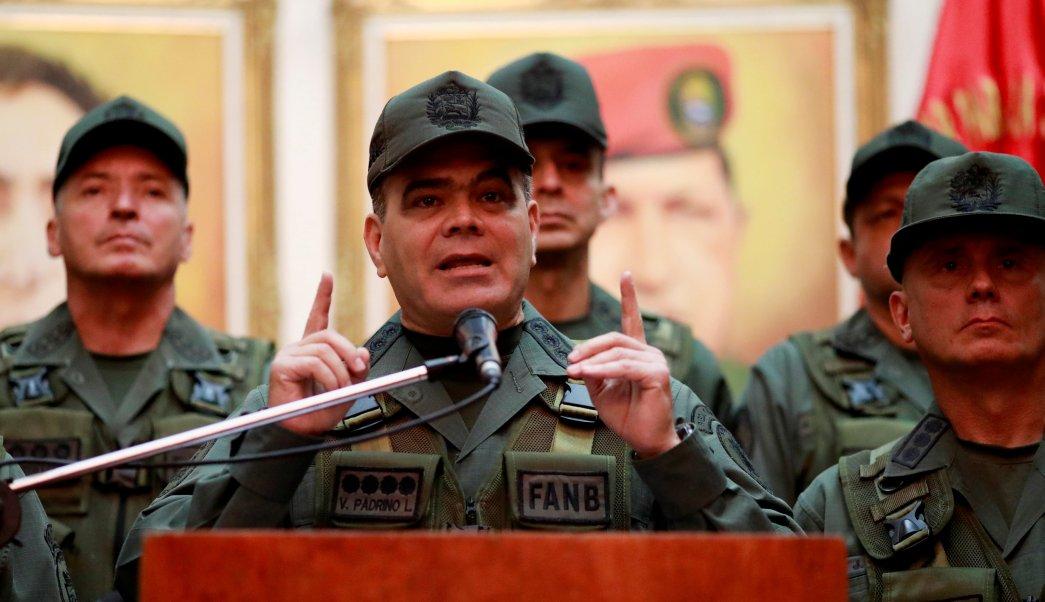 Ejercito venezolano dice que opcion militar es locura Trump