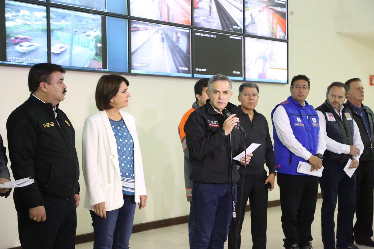 CDMX sin mayores daños tras sismo de 8.4 grados, afirma Mancera