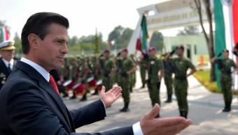 penanieto reconoce apoyo solidaridad fuerzas armadas