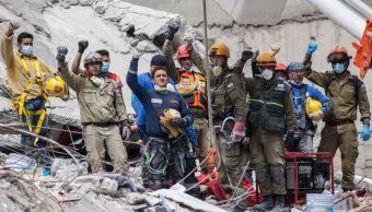 Rescatistas de Israel destacan solidaridad de mexicanos tras sismo del 19S. (Archivo/Getty Images)