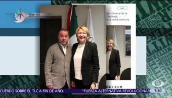 Luisa Ortega Exfiscal Venezuela Visita Cdmx