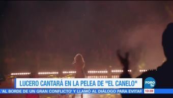 Loespectaculardeme Lucero Cantara Himno Nacional Pelea El Canelo Álvarez
