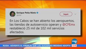 Sigue Activo Plan Mx Baja California Sur Peña Nieto