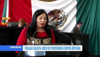 Fepade solicita juicio de procedencia contra diputada priista en Chihuahua