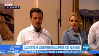 Se actuó manera preventiva no reactiva tormenta Lidia Peña Nieto