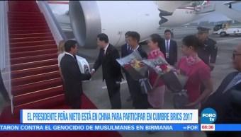 Peña Nieto Reunió China Xi Jinping