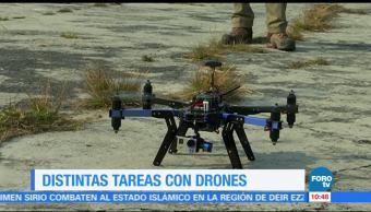 Las, distintas, tareas, drones