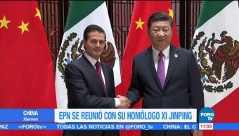 China Estrechar Vínculos comerciales México