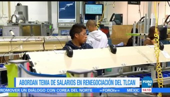Salarios Tema Complejo Renegociacion Tlcan Mexico Estados Unidos Canada