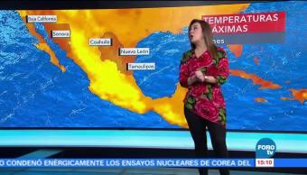 Tiempo Raquel Mendez Lluvias Estados Onda Tropical Número