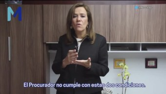 Margarita Zavala Exige Renuncia Anaya