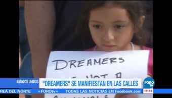 Dreamers Protestan Trump Cancelacion Daca Estados Unidos