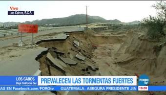 Lidia Graves Destrozos Bcs Tormenta Tropical