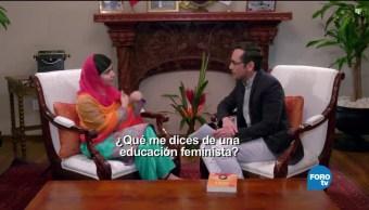 Genaro Lozano entrevista a Malala Yousafzai