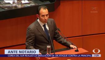Roberto Gil Zuarth Certifica Votará Fiscalía