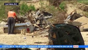 Lidia Deja Damnificados Baja California Sur