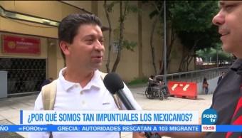 Por qué, impuntuales, los, mexicanos