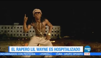 El Rapero Lil Wayne Hospitalizado