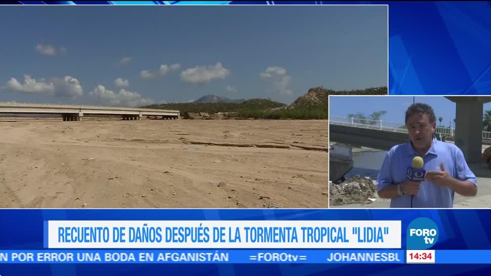 Río Registra Daños Lidia Bcs Baja California Sur